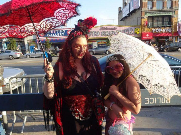 At a June event in Brooklyn, the Mermaid Parade.