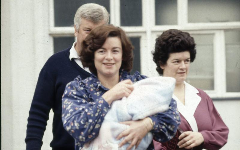 Sara Keays had a child with Cecil Parkinson while she was his parliamentary assistant - Credit: I.T.N./REX Shutterstock/Rex Features