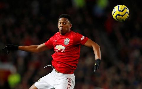 Anthony Martial returns after injury - Credit: Reuters