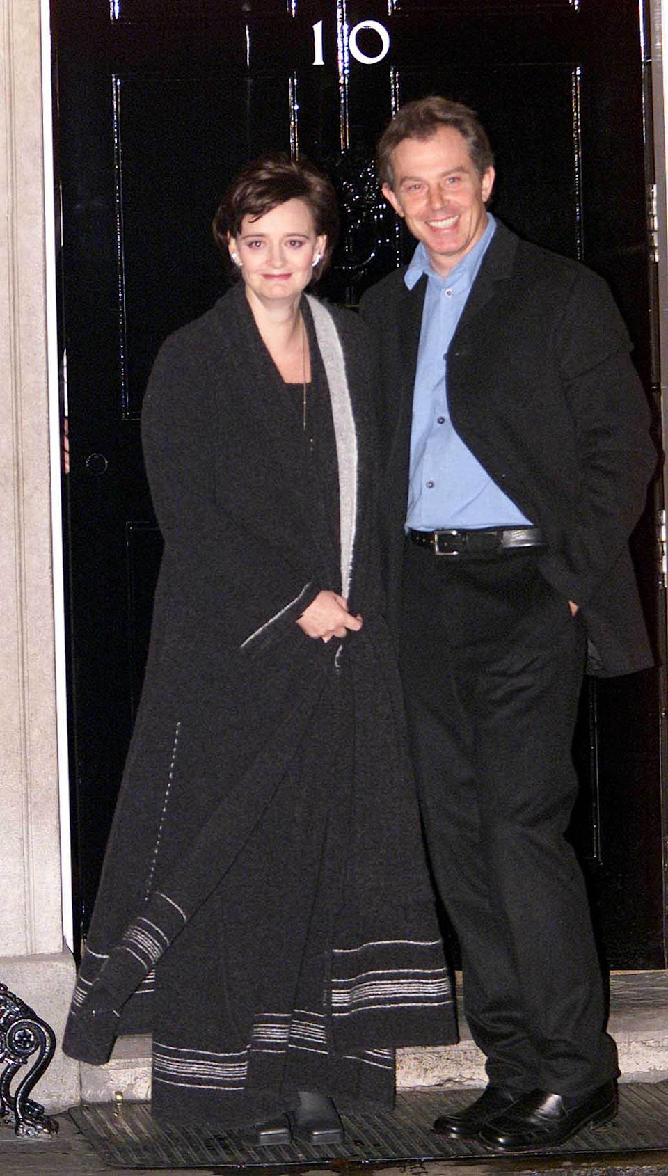 Former barrister Cherie Blair joined husband Tony at Downing Street back in May 1997. During her legal career, she specialised in employment, public law and discrimination cases. The mother-of-four later went on to focus on charity work and launched the Cherie Blair Foundation for Women in 2008 - an organisation which aims to support female entrepreneurs in developing countries. She is also a patron of Breast Cancer Care, Jospice and Scope. <em>[Photo: Getty]</em>