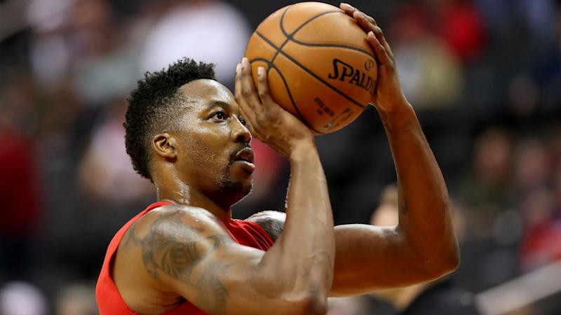 ba1d37ec5cb Dwight Howard returns as Oklahoma City Thunder blowout Washington Wizards  134-111