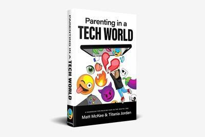 """Parenting in a Tech World book helps parents navigate """"Tech All Day, Every Day."""""""