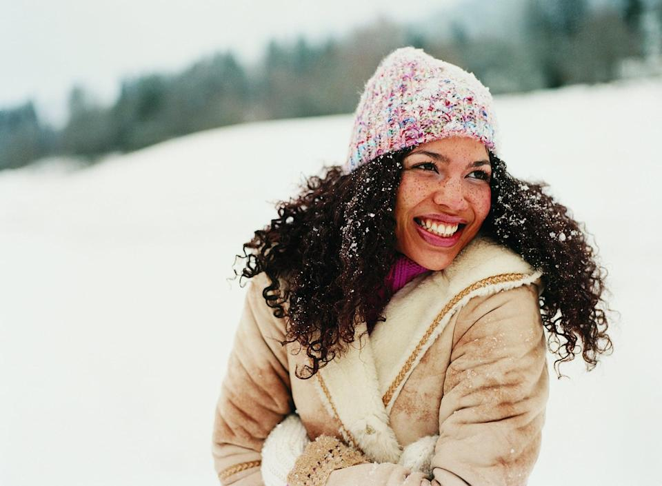 "<p>""The most important thing you can do to protect your natural curly hair in the winter is to make sure that it is <a href=""https://www.popsugar.com/beauty/how-often-deep-condition-hair-47544938"" class=""link rapid-noclick-resp"" rel=""nofollow noopener"" target=""_blank"" data-ylk=""slk:properly moisturized"">properly moisturized</a>,"" <a href=""https://www.instagram.com/sosheargenius/"" class=""link rapid-noclick-resp"" rel=""nofollow noopener"" target=""_blank"" data-ylk=""slk:Annagjid &quot;Kee&quot; Taylor"">Annagjid ""Kee"" Taylor</a>, owner of <a href=""https://www.instagram.com/Deeper.Than.Hair/"" class=""link rapid-noclick-resp"" rel=""nofollow noopener"" target=""_blank"" data-ylk=""slk:Deeper Than Hair Salon"">Deeper Than Hair Salon</a> in Philadelphia, told POPSUGAR. You should be doing to your best to moisturize your hair during all seasons, but as Taylor points out, it's an easy problem for people to forget about in the colder months: ""Moisture is key for healthy hair. The moisture helps create a barrier between your strands and the cold weather.""</p> <p>A few of Taylor's favorite products for moisturizing and sealing the hair include the <span>Deeper Than Hair Resurrection Masque</span> ($23) because it's ""fortified with proteins, moisturizing ingredients like jojoba, and other extracts to improve moisture and prevent breakage,"" the <span>E'tae Natural Products Buttershine Moisturizing Hair and Scalp Cream</span> ($20), and <span>Daily Dose Miracle Moisture Spray Leave-In Conditioner & Detangler</span> ($18).</p>"