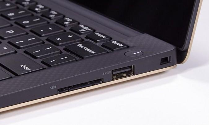 SD Card slot on Dell XPS 13