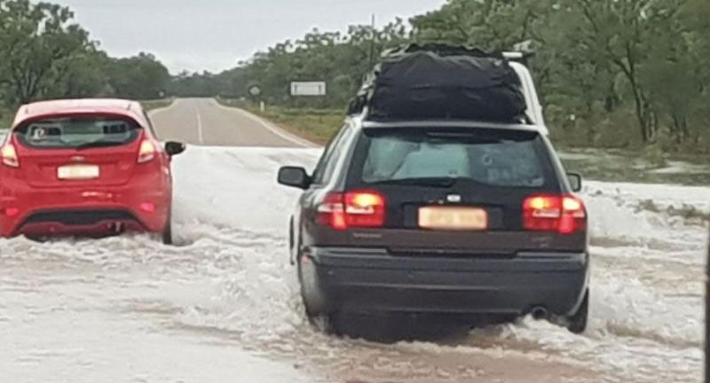 Flooding is now the major concern in the State's north. Source: Twitter/DFES