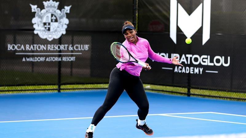Serena Williams Wins Her First Singles Title Since Giving Birth to Daughter Olympia