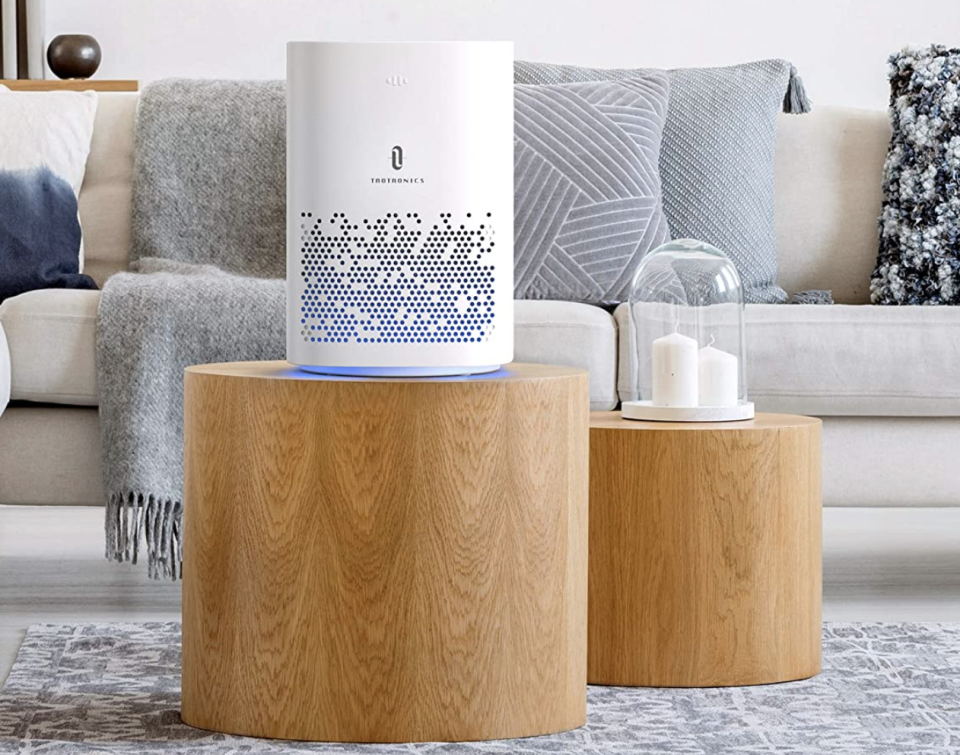 It's the most stylish purifier out there. (Photo: Amazon)