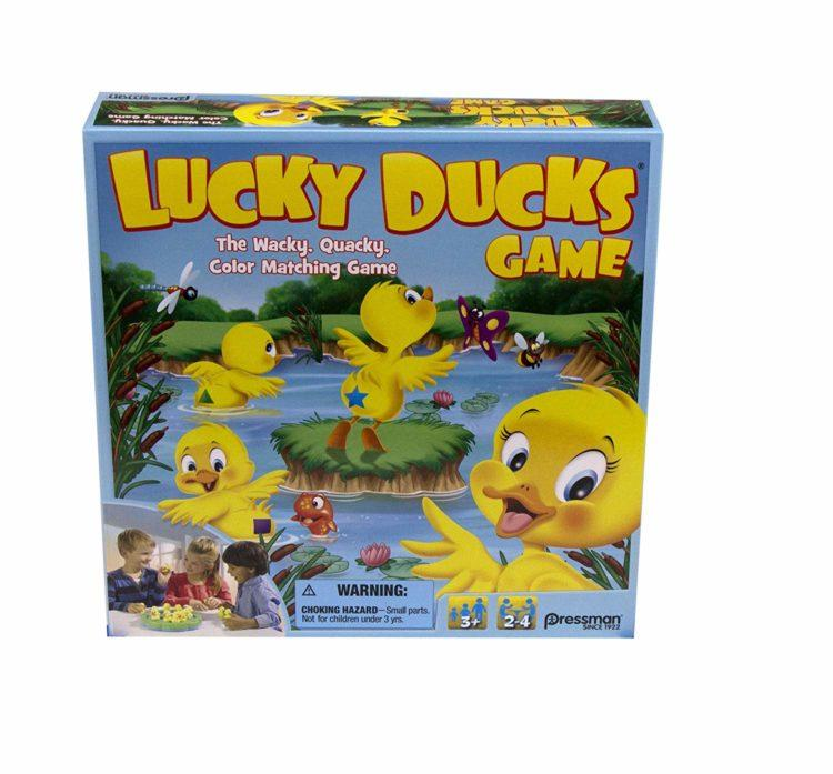 Lucky Duck game box