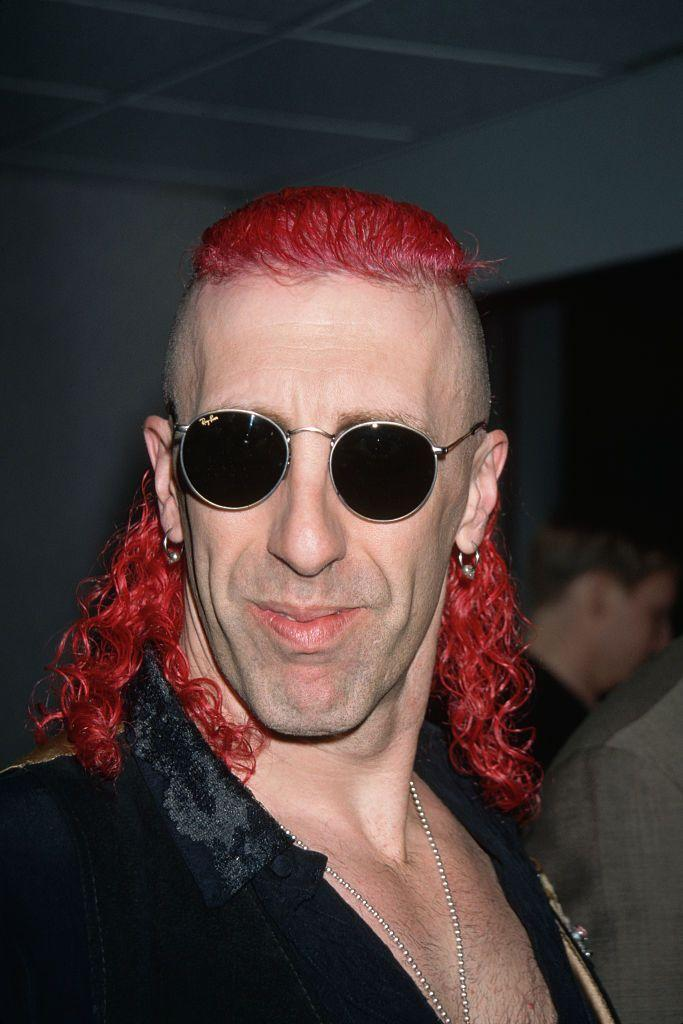 <p>Heavy metal singers get some leeway with their hair choices, but this is a style best left untouched. </p>