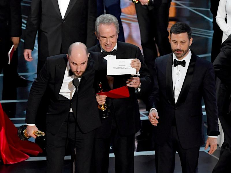 Oscars best picture 2017 Kevin Winter Getty final