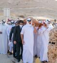 Bahrain's prime minister laid to rest