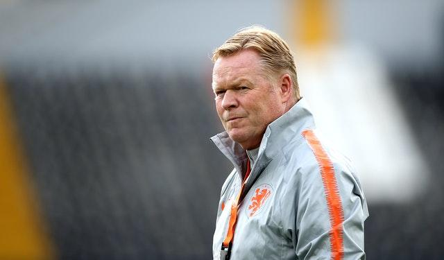 Ronald Koeman was appointed Netherlands manager following their failure to qualify for the 2018 World Cup