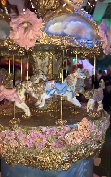 "The lavish birthday party include carnival rides, a butterfly forest room, a bubble room and ""Stormi's Shop,"" with Stormi-themed merchandise."