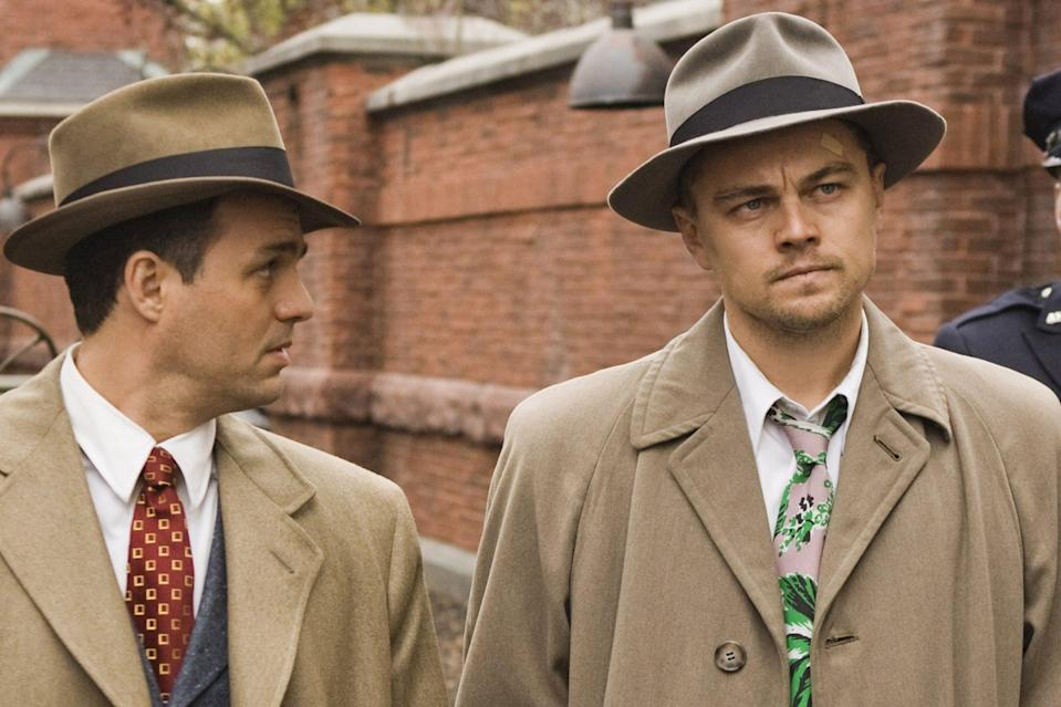 """<p>Before <i>Inception</i> became a summer smash, DiCaprio's big year of being haunted by dead wives began with Martin Scorsese's neo-noir psychological thriller. Without giving away a decade old twist, Leo stars as U.S. Marshal Teddy Daniels, who slowly unravels as he and his partner (<a href=""""https://ew.com/tag/mark-ruffalo/"""" rel=""""nofollow noopener"""" target=""""_blank"""" data-ylk=""""slk:Mark Ruffalo)"""" class=""""link rapid-noclick-resp"""">Mark Ruffalo)</a> investigate a missing persons case at a hospital for the criminally insane. The inexplicable decision to release this film in February, virtually removing it from awards consideration, is a big reason why this will go down as DiCaprio's most underrated showing.</p> <p><b>Related: </b><a href=""""https://ew.com/article/2009/08/14/welcome-shutter-island/"""" rel=""""nofollow noopener"""" target=""""_blank"""" data-ylk=""""slk:Welcome to Shutter Island"""" class=""""link rapid-noclick-resp"""">Welcome to <i>Shutter Island</i></a></p>"""