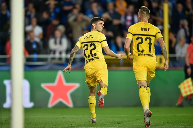 dba76cbd2 Champions League  Christian Pulisic scores winner for Dortmund