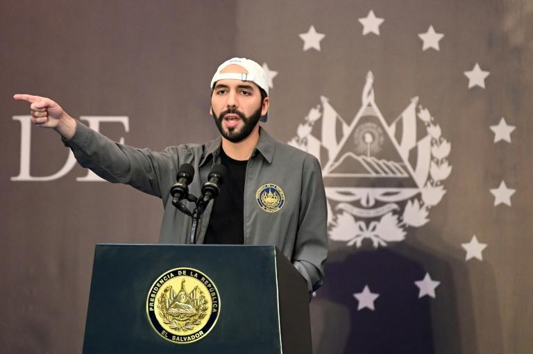 President Nayib Bukele is a harsh critic of the traditional parties, whom he accuses of abandoning the victims of the 1980-92 civil war