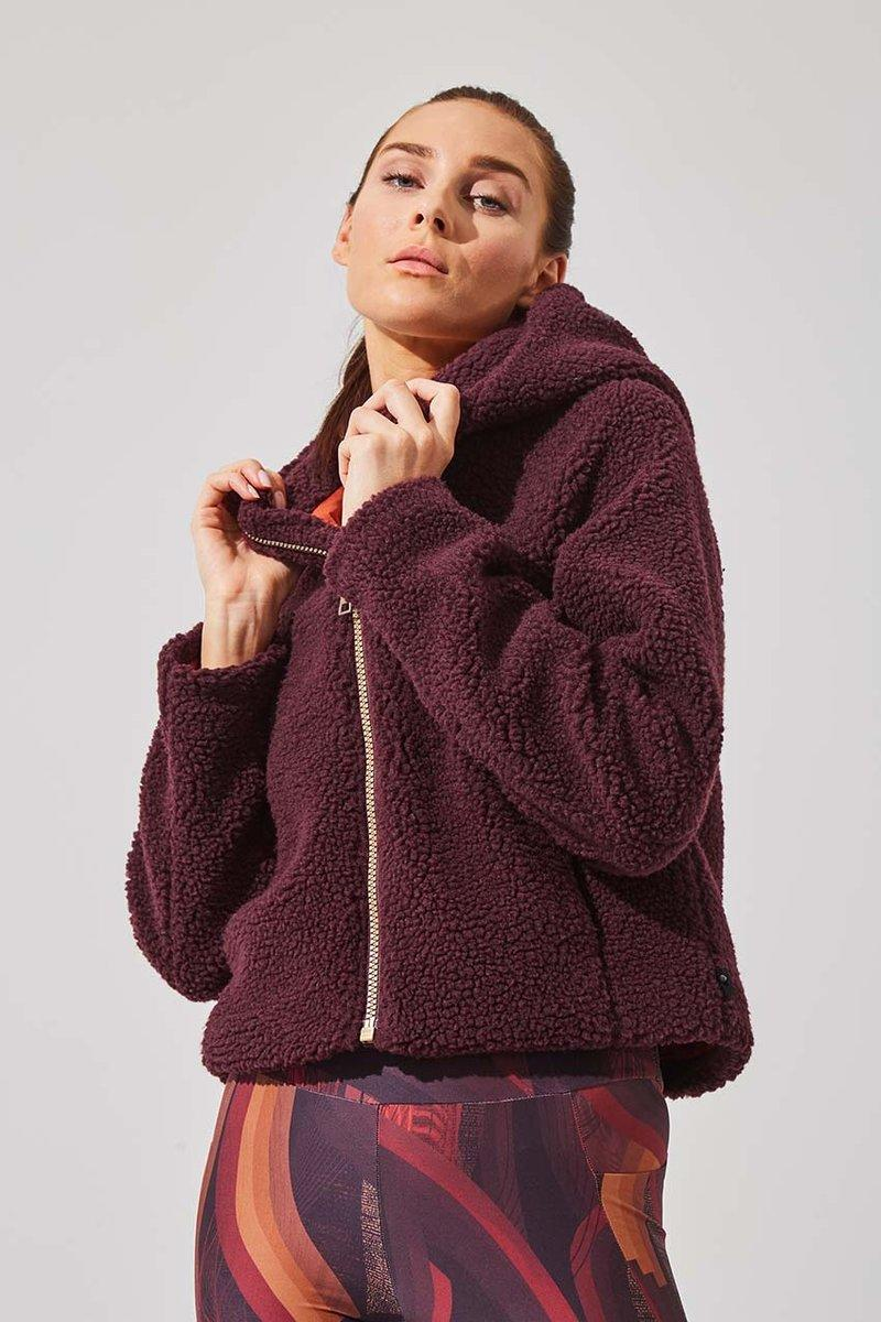 Bombshell Berber Fleece Jacket. Image via MPG Sport