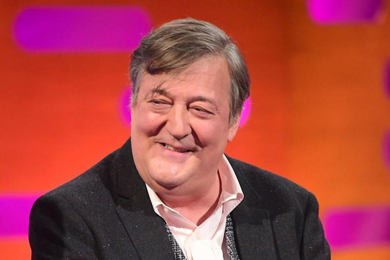 Stephen Fry was voted as the second best leader (PA)