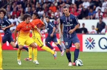 Paris Saint-Germain 2-2 Barcelona (1-4 on penalties): Pique nets shoot-out winner for the Catalans