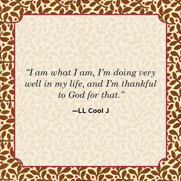 """<p>""""I am what I am, I'm doing very well in my life, and I'm thankful to God for that.""""</p>"""