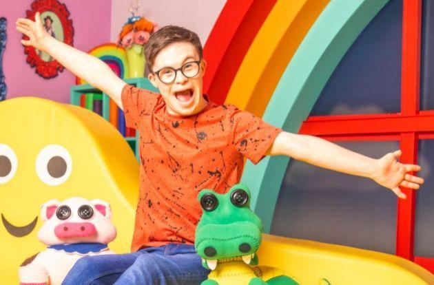 <strong>George,who has Down's syndrome, is an actor, dancer and ambassador for the charity Mencap.</strong> (Photo: BBC)