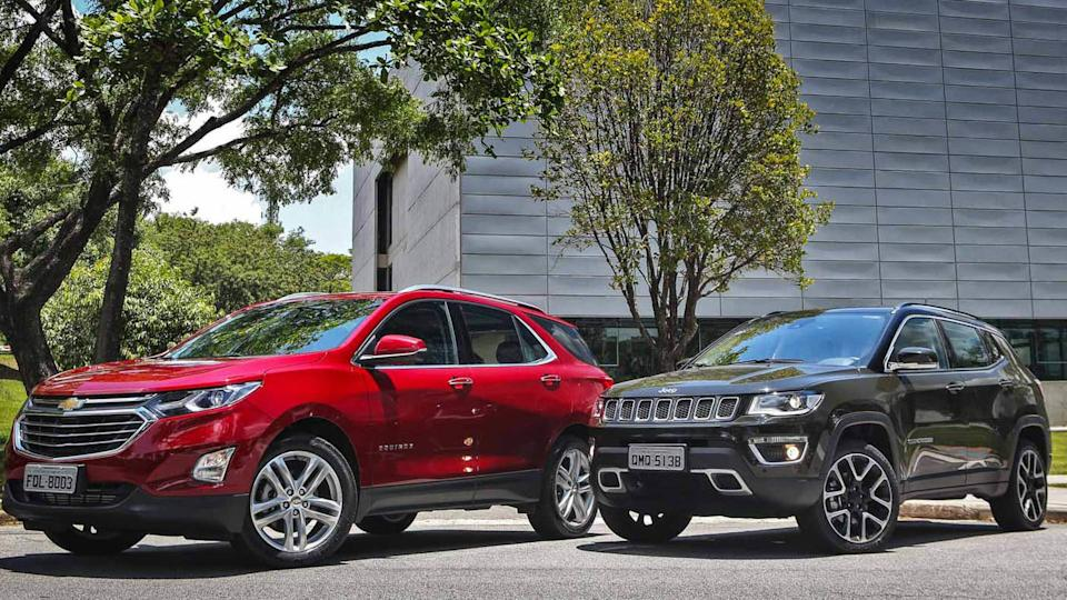Chevrolet Equinox x Jeep Compass-abre