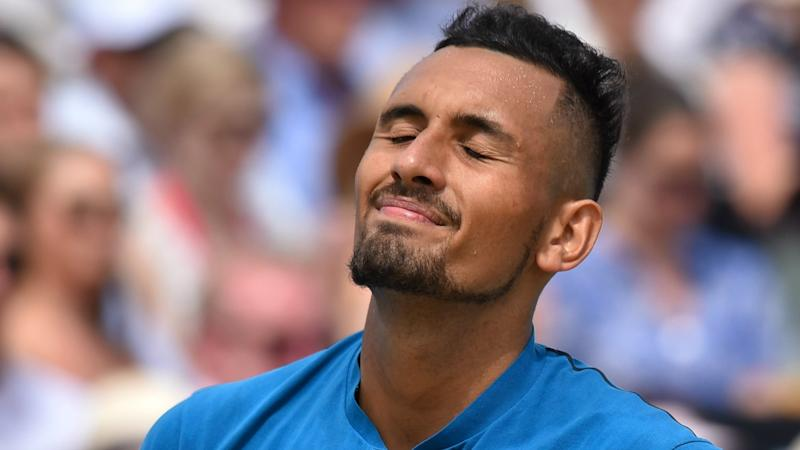 Kyrgios fell to Cilic in the semi-finals. Pic: Getty