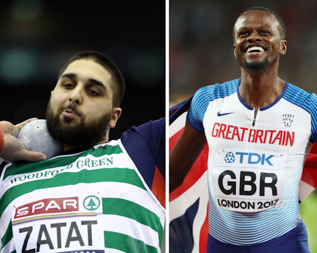 Shot putter Youcef Zatat was named in the 4x400m relay team at the European Athletics Team Championships. (Credit: Getty Images)
