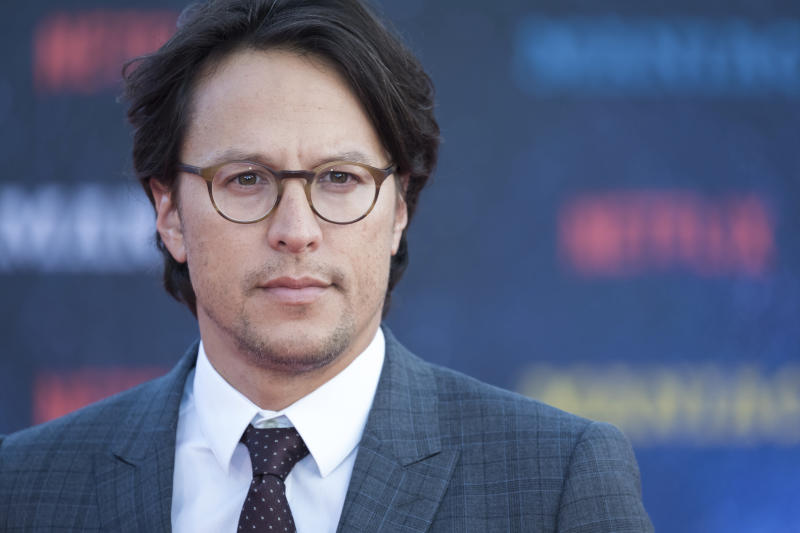 Director Cary Fukunaga poses for photographers upon arrival at the world premiere of the film 'Maniac', in London, Thursday, Sept. 13, 2018. (Photo by Vianney Le Caer/Invision/AP)