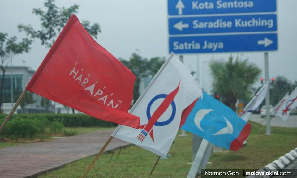 Which logo for GE15 is latest sore point between PKR, Harapan