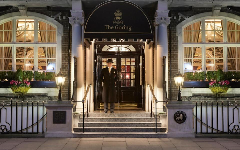 hotels lockdown roadmap - The Goring