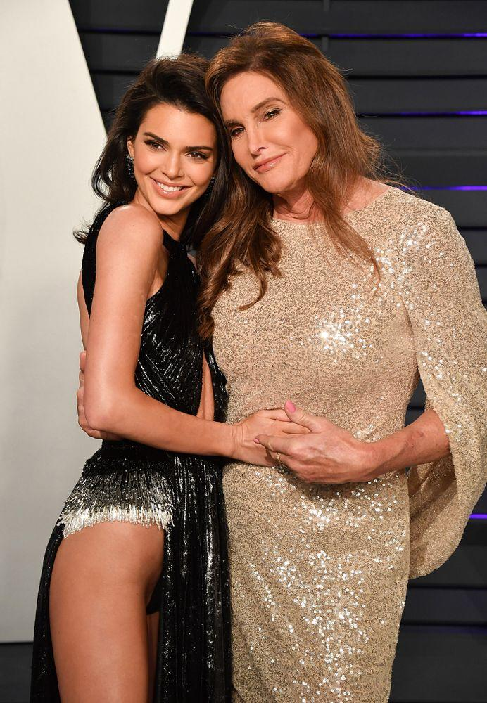 Kendall Jenner and Caitlyn Jenner | George Pimentel/Getty Images