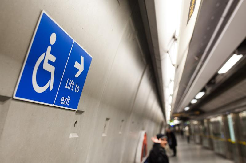Access: Campaigners are protesting over disabled access at stations