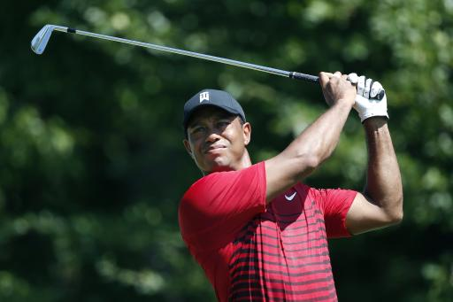 Woods fires sizzling 29 on first nine at BMW Championship