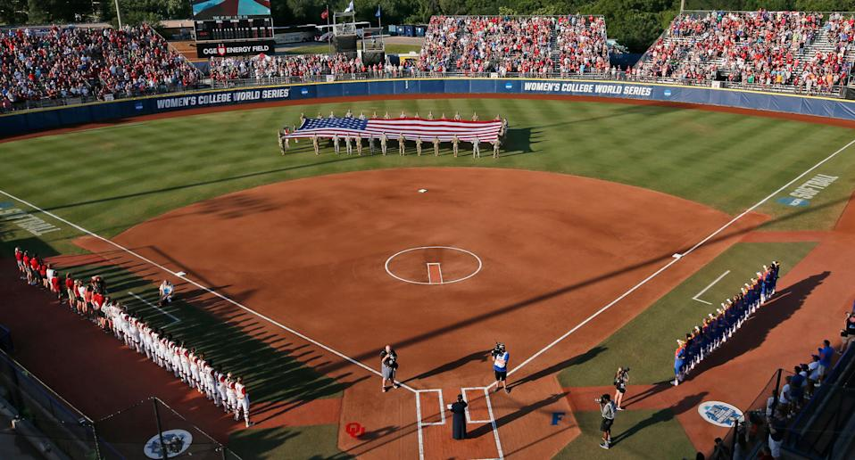 The NCAA will play softball regionals in Alabama, Arkansas and Tennessee, states that have recently passed legislation that effectively blocks transgender athletes from playing sports.