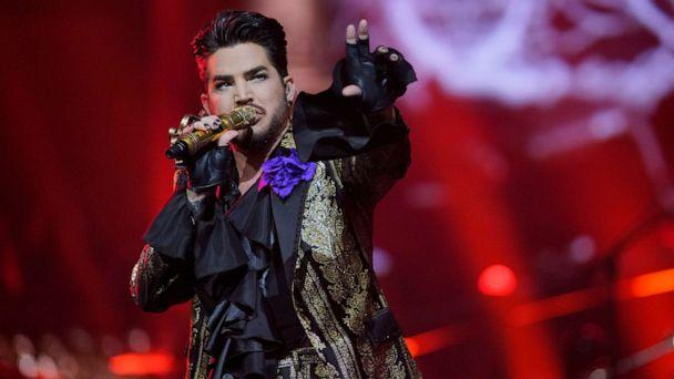 PHOTO: Adam Lambert of Queen + Adam Lambert performs at the United Center on Friday, Aug. 9, 2019, in Chicago. He was one of several celebrities targeted for burglaries in California, authorities said. (Rob Grabowski/Invision/AP)