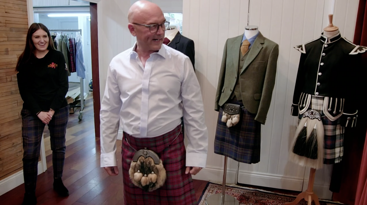 Gregg Wallace travelled to Edinburgh for his Big Weekend series (Channel 5/Rumpus Media/PA)