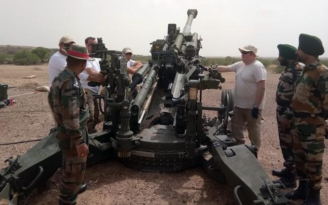 <p>As part of a Rs 5000 crore deal, the US is supplying India with 145  howitzers, two of which arrived in May. Each of the guns are worth  around Rs 35 crore.</p><p> </p>