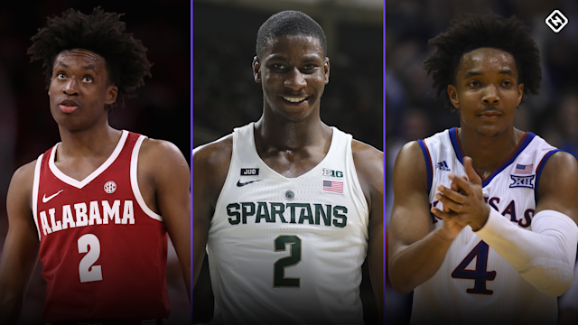 With the NCAA Tournament on the horizon, Sporting News' Chris Stone offers an updated look at the top 60 prospects for the 2018 NBA Draft.