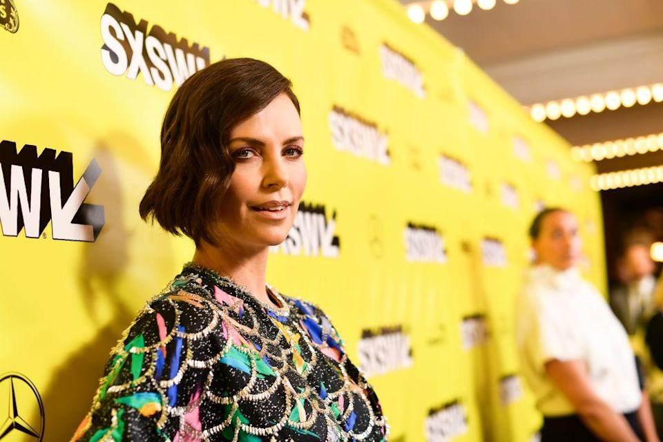 """<p>""""<a href=""""https://www.elle.com/culture/celebrities/a19744768/charlize-theron-tully-film-interview/"""" rel=""""nofollow noopener"""" target=""""_blank"""" data-ylk=""""slk:I have bad days"""" class=""""link rapid-noclick-resp"""">I have bad days</a>. I make mistakes ... It's a lot for one person. But after six years of having my two nuggets, there's not a day when I wish I hadn't done this.""""<br></p>"""