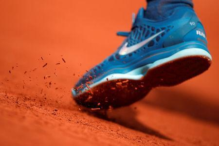 Tennis - French Open - Roland Garros, Paris, France - June 2, 2018 General view of Spain's Rafael Nadal during his third round match against France's Richard Gasquet REUTERS/Christian Hartmann
