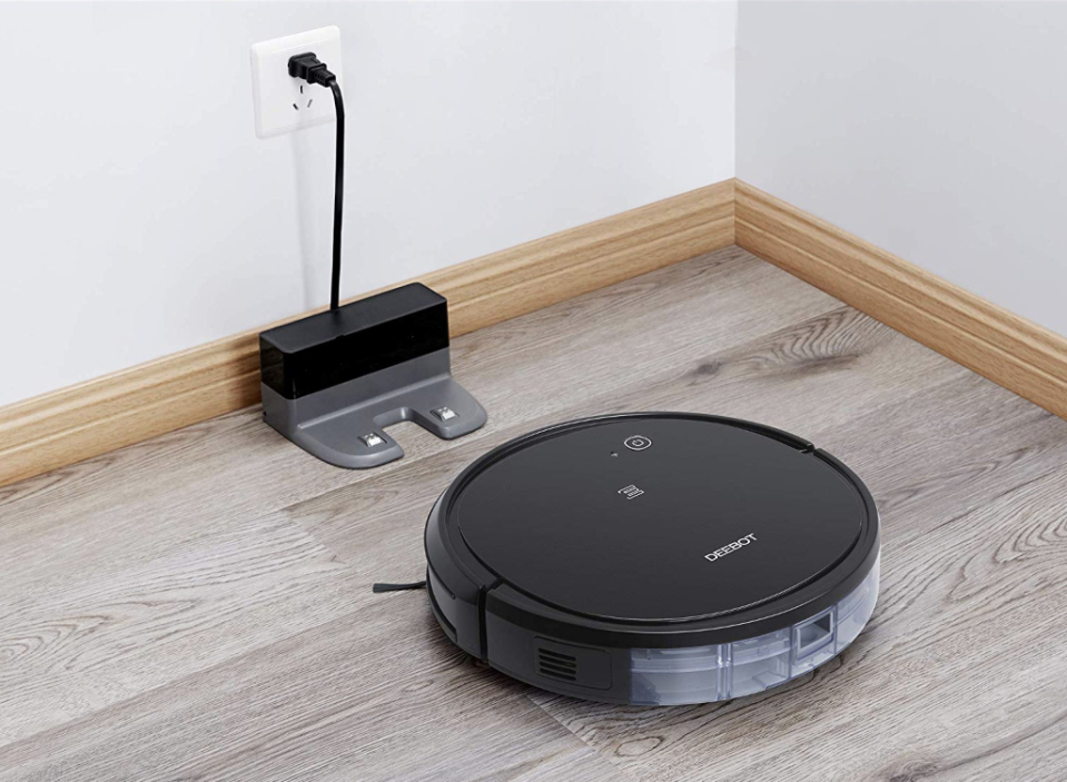 'This has got to be the best purchase of my life!': Shop the Ecovacs robo vacuum for nearly 50 percent off today!