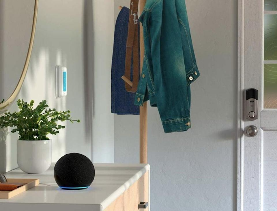 <p>Now is the time to snag this <span>Amazon Echo Dot (4th Generation) Smart Speaker With Alexa</span> ($30, originally $50).</p>