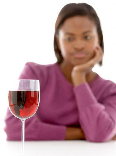 This happens to many, many expectant mums, and it's unlikely to be a cause for concern at all. Mention it to your GP/midwife, and just keep off the booze now, until you can enjoy a celebratory glass of fizz when your bundle arrives.