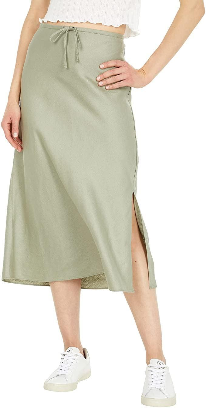 <p>The relaxed fit of this <span>Madewell Pull-On Midi Skirt</span> ($88) makes it a comfy, but also dressy pick for any social activity.</p>