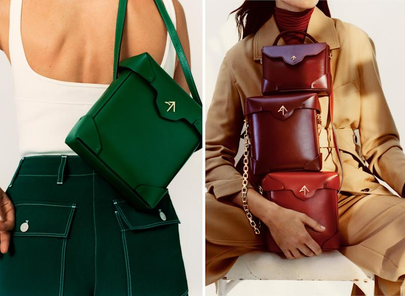 Bags from Manu Atelier's Fall 2019 collection.