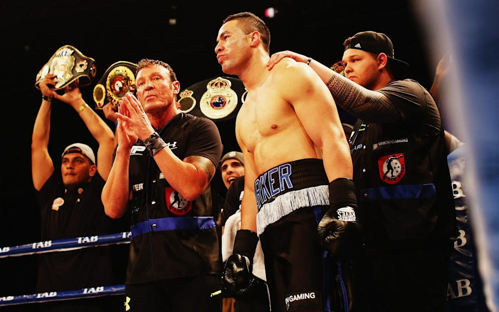 Joseph Parker in action - Credit: Getty Images