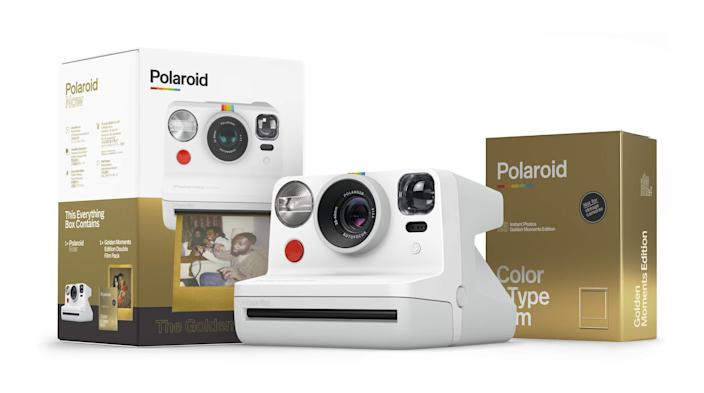 "<h3>Polaroid Originals Now I-Type Instant Camera</h3><br>""A Polaroid camera will allow your Sag bestie share their memories and show off their socially-distanced adventures,"" says Stardust.<br><br><strong>Polaroid</strong> Now I-Type Instant Camera - The Golden Gift Box, $, available at <a href=""https://amzn.to/3ezYWPt"" rel=""nofollow noopener"" target=""_blank"" data-ylk=""slk:Amazon"" class=""link rapid-noclick-resp"">Amazon</a>"