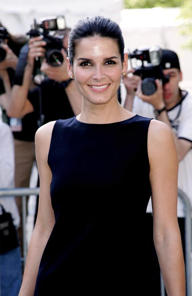 """Angie Harmon shows off simple but elegant style. James Devaney/<a href=""""http://www.wireimage.com"""" target=""""new"""">WireImage.com</a> - May 15, 2007"""