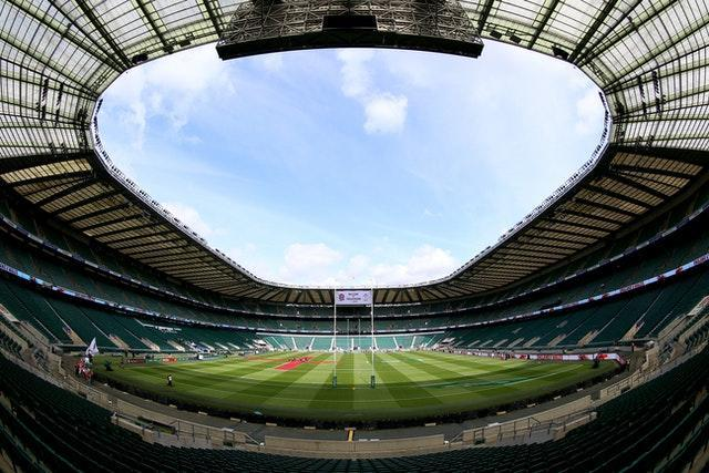 Twickenham stadium will host fans for the first time since March